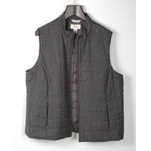 Talbots Vest Italian Wool Size 14